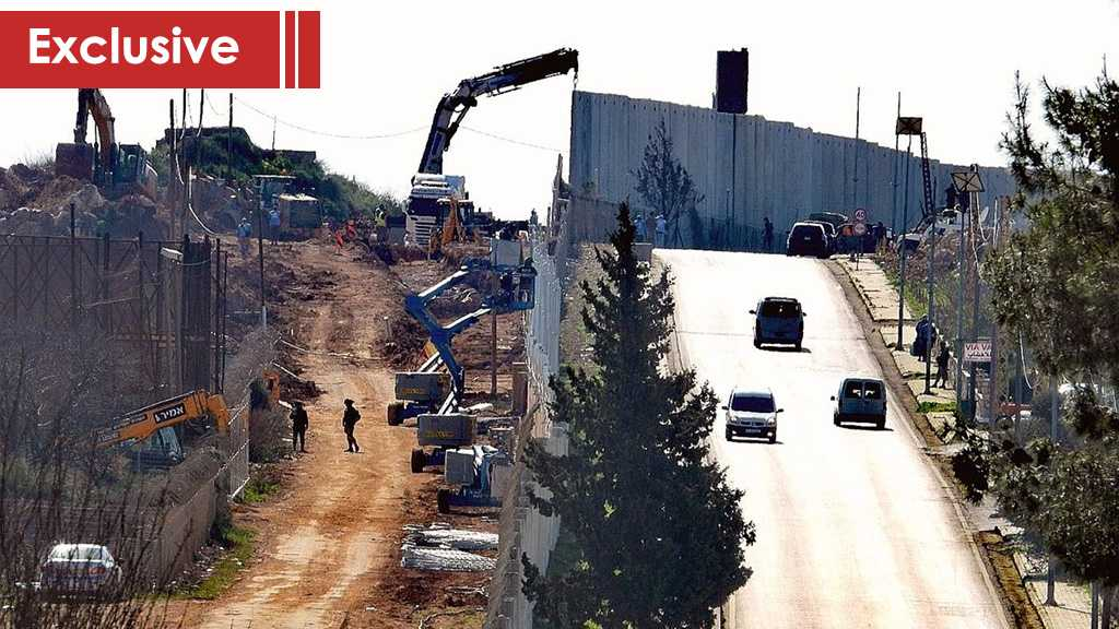 Zionist 'Israel' Is Stealing Lebanese Land…Again