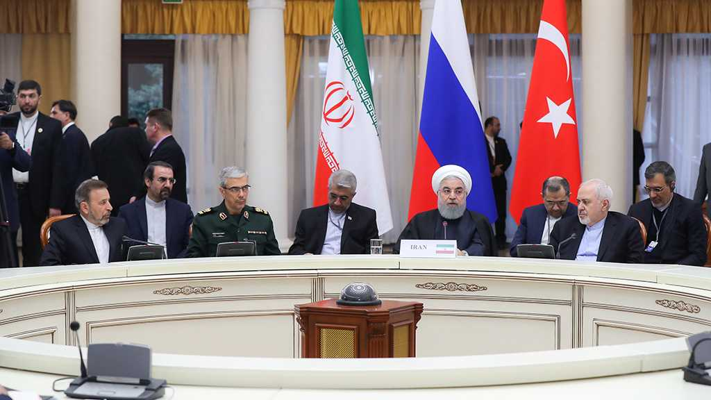 Rouhani after Sochi Summit: Terrorists Mustn't Feel Safe Anywhere In World