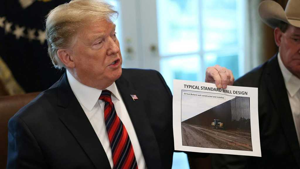 Trump Slams Democrats' Wall Lawsuit