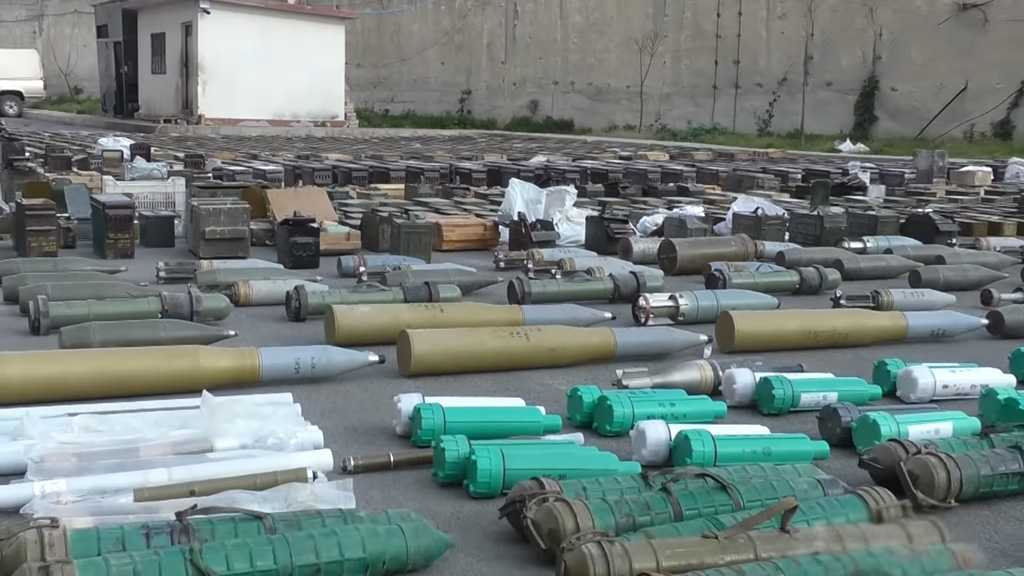Syrian Army Finds US, 'Israeli'-made Weapons near Damascus