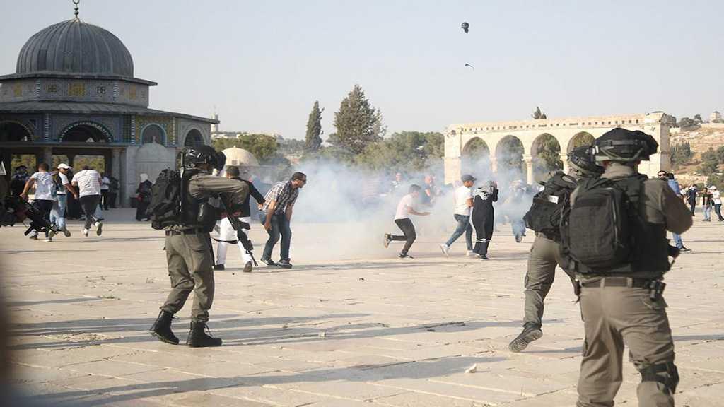 'Israeli' Forces Storm Holy Al-Aqsa Mosque, Attack Palestinians