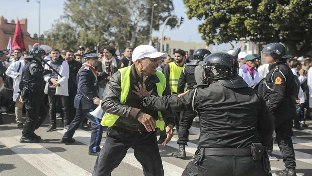 Morocco: Security Forces Fire Water Cannon at Protesting Teachers