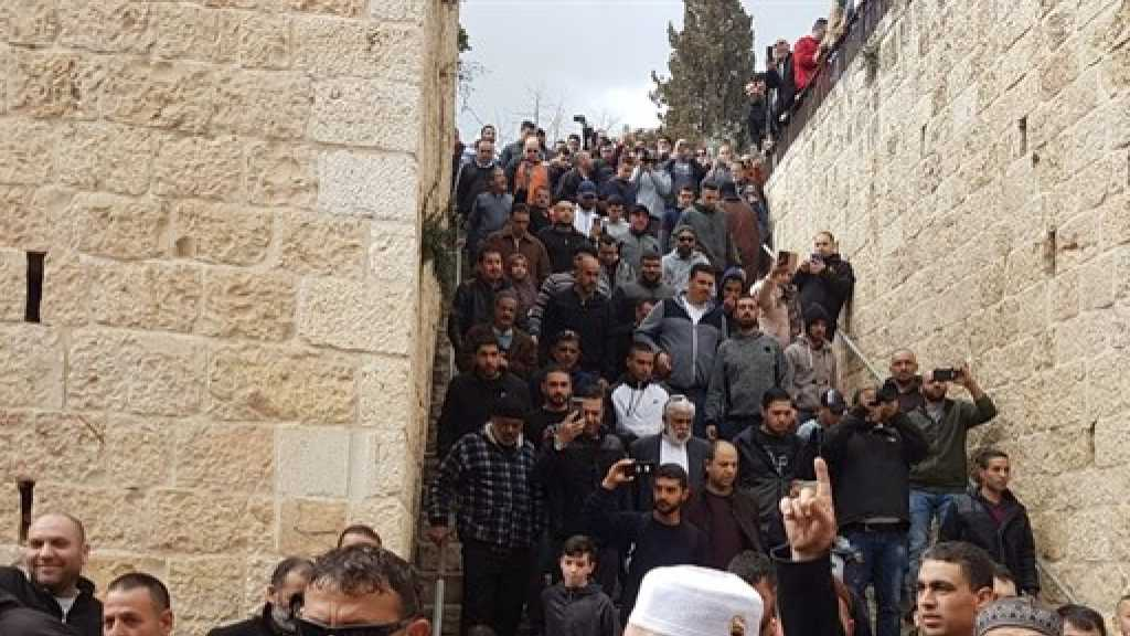 Palestinians Open Al-Aqsa Gate Sealed since 2003