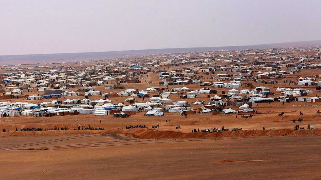 Syria Terrorists Banning Refugees from Leaving Rukban Camp