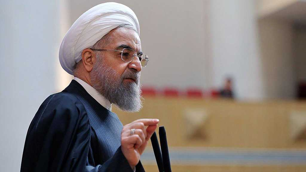 Rouhani Vows Iran Will 'Work Hard' To Overcome Sanctions