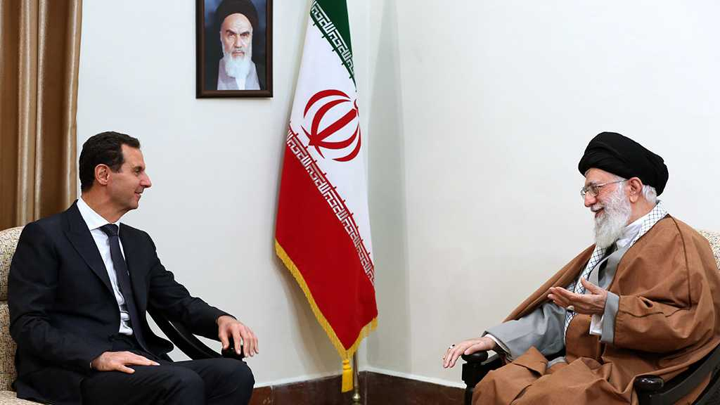 Imam Khamenei Receives Assad, Says Supporting Syria is Iran's Resistance, Pride