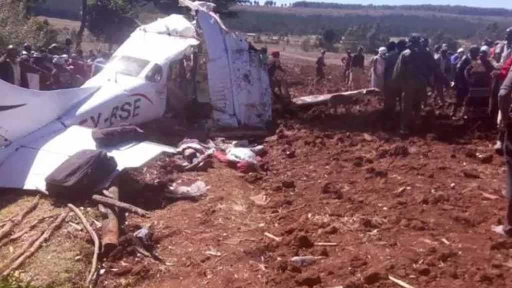 Helicopter Crash Kills Four Americans, Pilot in Kenya