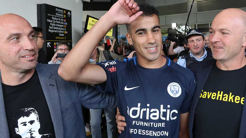 Bahrain Refugee Footballer Hakeem Al-Araibi to Become Australian Citizen