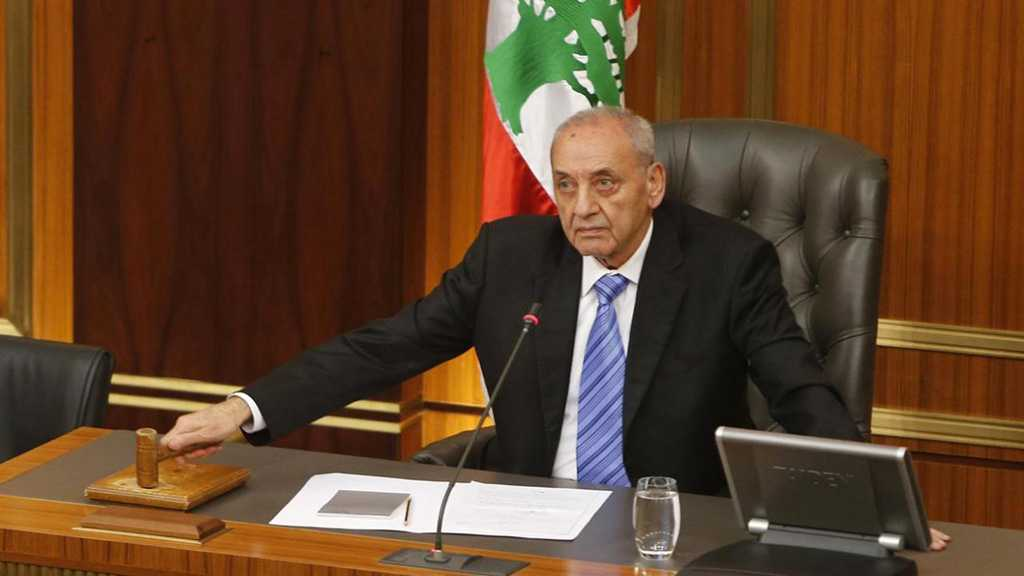 Lebanese Parliament Speaker Calls for Coordination with Syria Ahead of Brussels Meeting