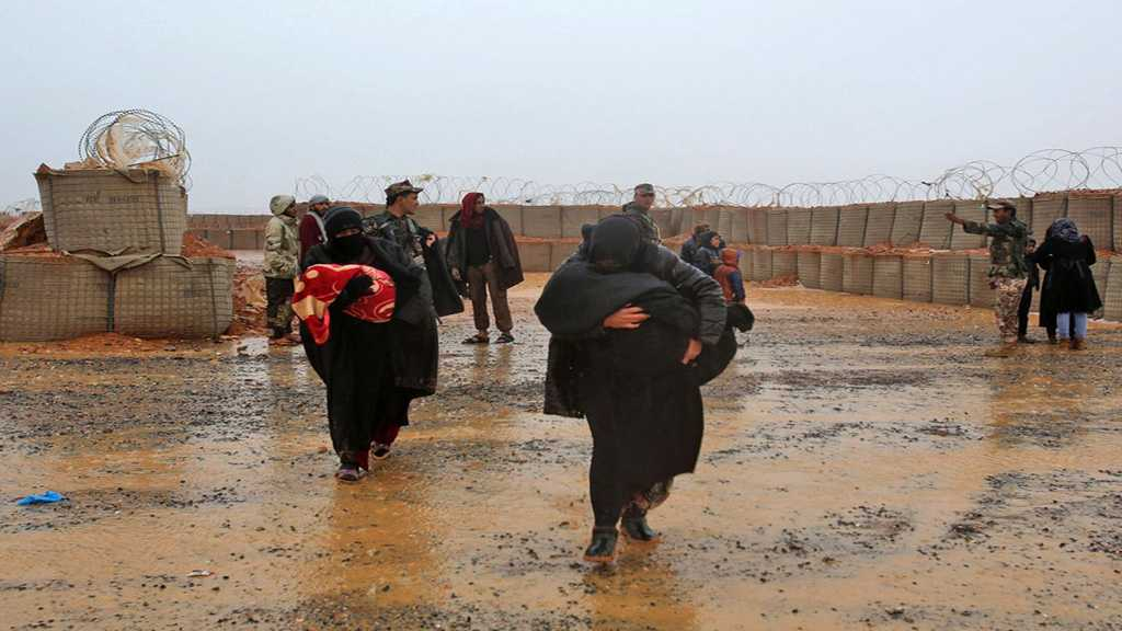 Russia, Syria Warn Food and Water Drying Up In Rukban Refugee Camp