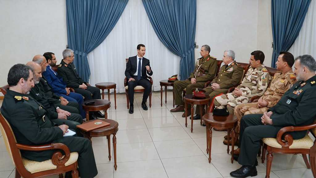 Assad Stresses Iran, Iraq, Syria Bound by Battlefield Blood
