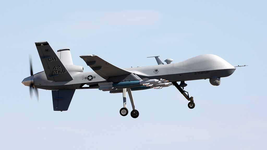 Yemen's Popular Committees Shoot Down US Drone