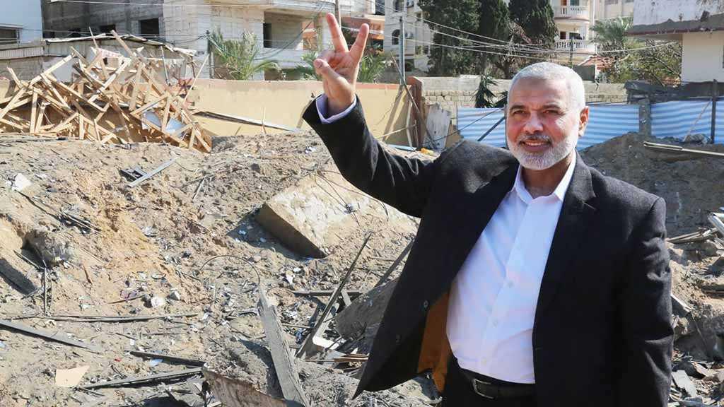 Hamas Leader Hails Defiance against «Israel» despite Pummeled Headquarters
