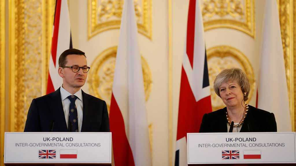 PM: Poland Advocates for a Long Brexit Delay If Deal Not Passed