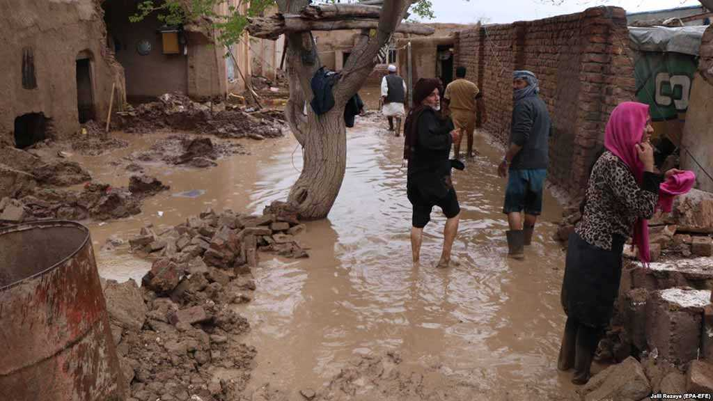 Flash Floods Kill at Least 35 in Afghanistan