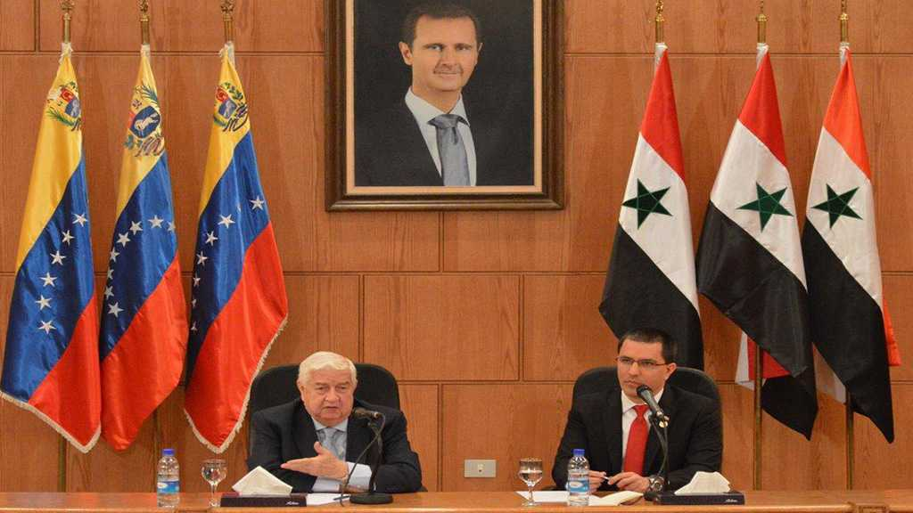 Al-Moallem: Syria's Right in Occupied Golan is Firm, All Options on Table