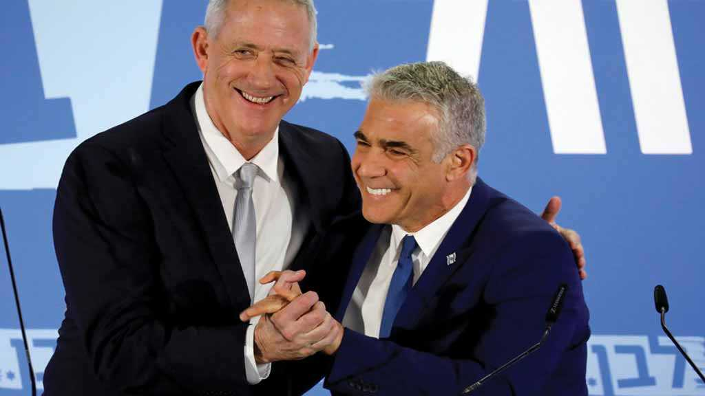 Lapid: If We Beat Likud by 4, 'No Power on Earth' Can Stop Us Forming Coalition