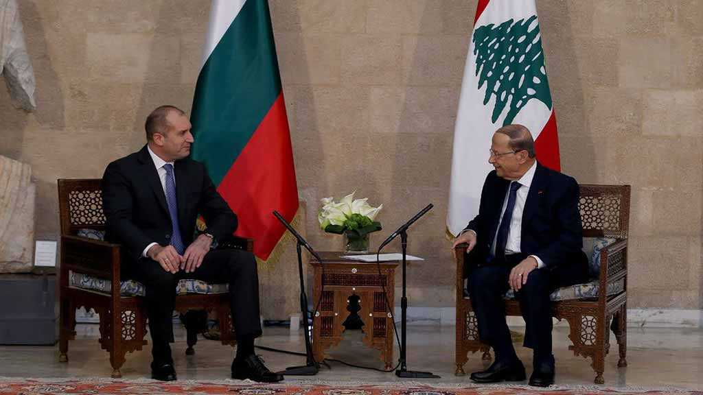 Radev Says Bulgaria 'Can Be Lebanon's Gate to the EU'