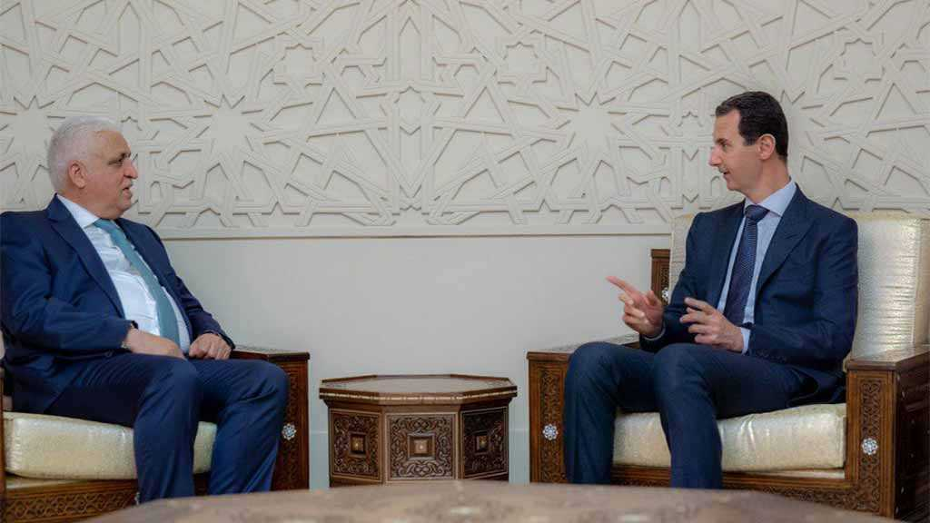 Syria's Assad Receives Iraq's Security Adviser – Assert Bilateral Ties Development