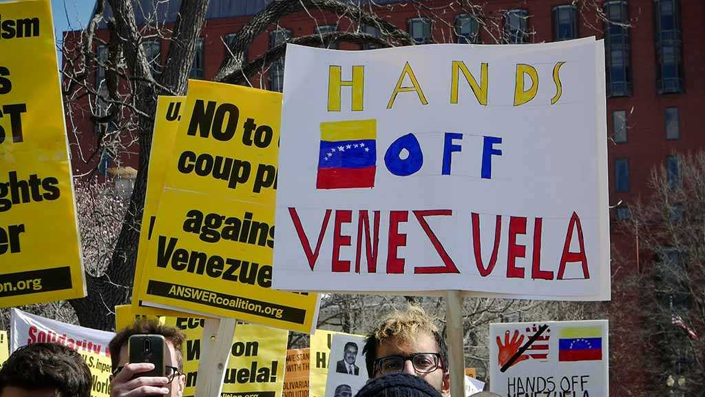 US Think Tank Holds Secretive Meeting on Military Option in Venezuela