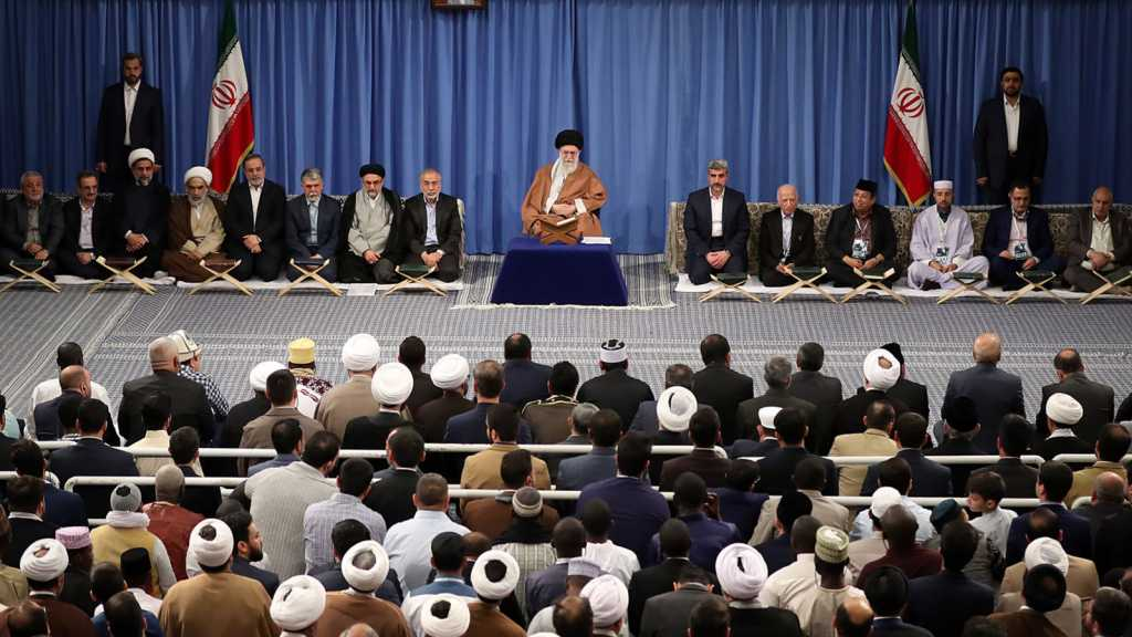 Imam Khamenei: Normalizing Relations with 'Israel' Is Blatant Violation of the Word of Quran