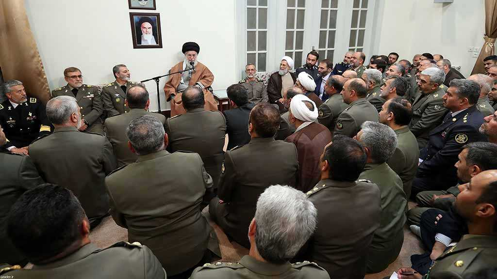 Imam Khamenei: Region Would Face Unclear Fate If Iran Army, IRGC Did Not Counter Daesh