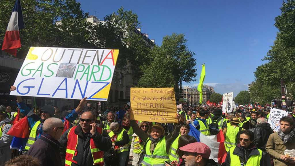 France: Yellow Vests Hold 24th Week of Mass Protests in Paris