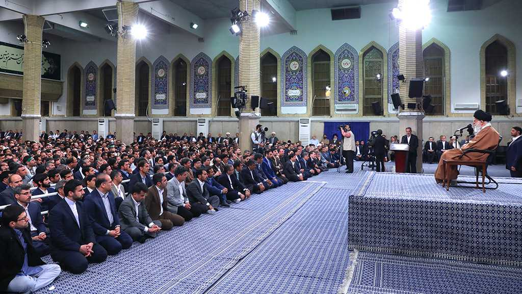 Imam Khamenei: Enemies on War Footing Against Iran on Various Fronts