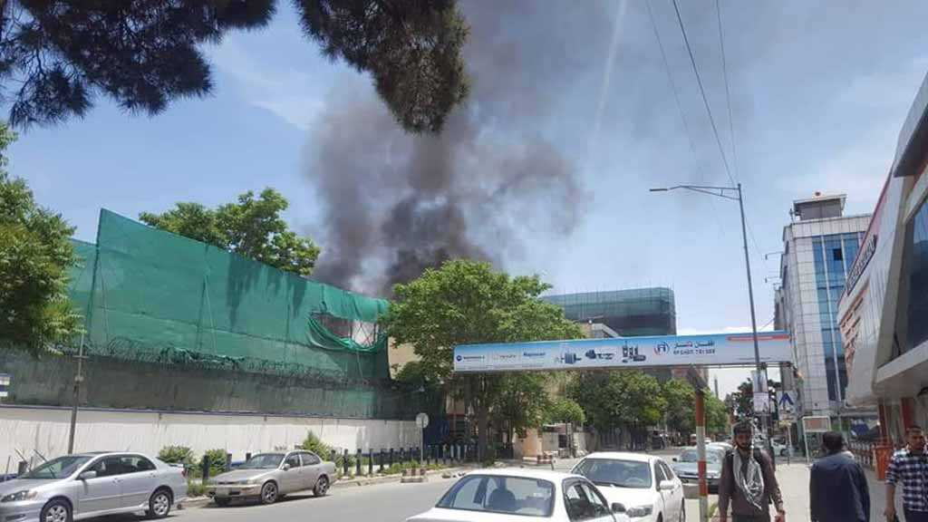 Taliban Claims Responsibility for Kabul Blast Targeting Foreign NGOs