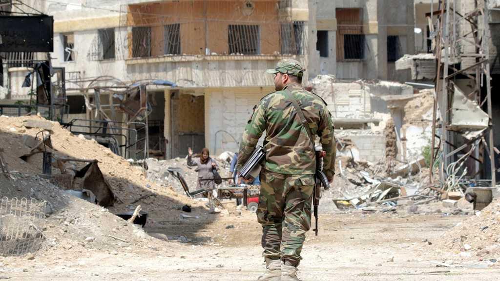 Syrian Ground Troops Capture Militants Enclave