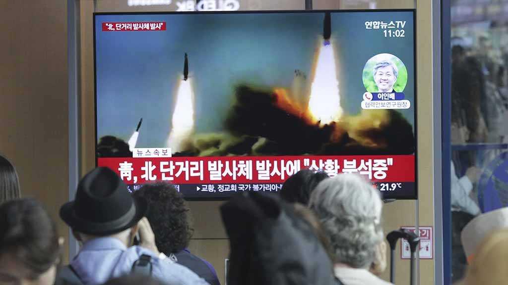 South Korea: North Korea Fires Unidentified Projectiles