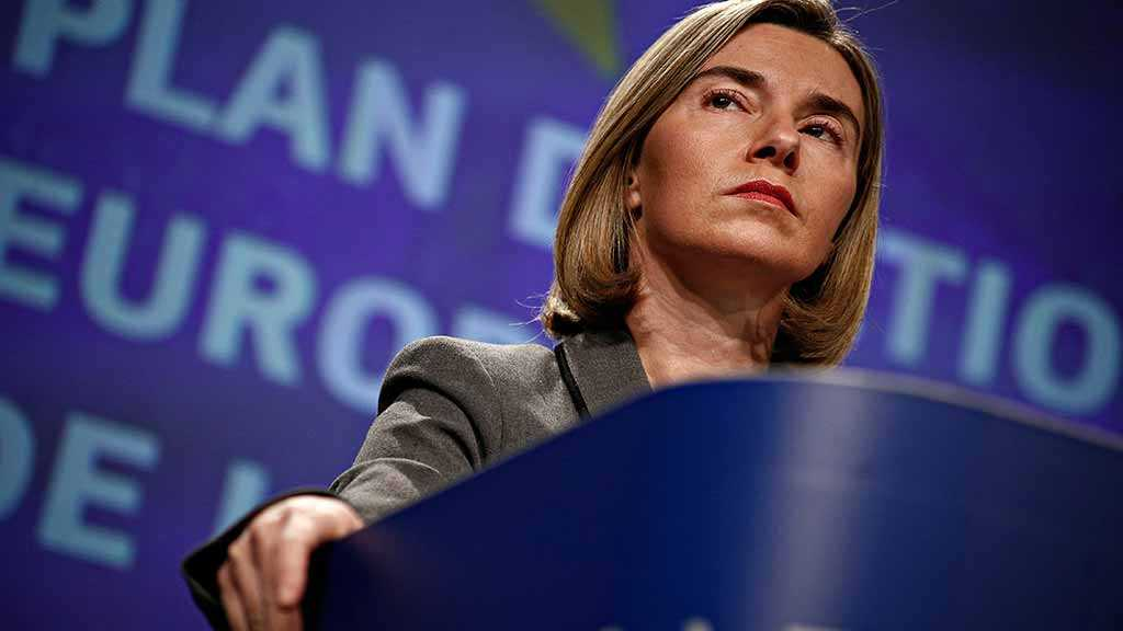 Mogherini: EU Supports Iran Nuclear Deal, May Talk to Pompeo
