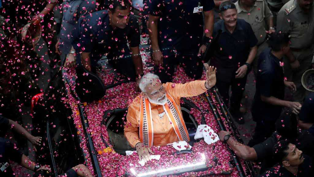 India's Modi Secures 2nd Term, Stronger Majority