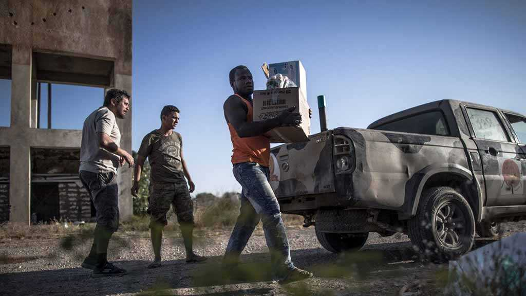 Libyan Capital, Under Siege, Gets Water Back After 2 Days