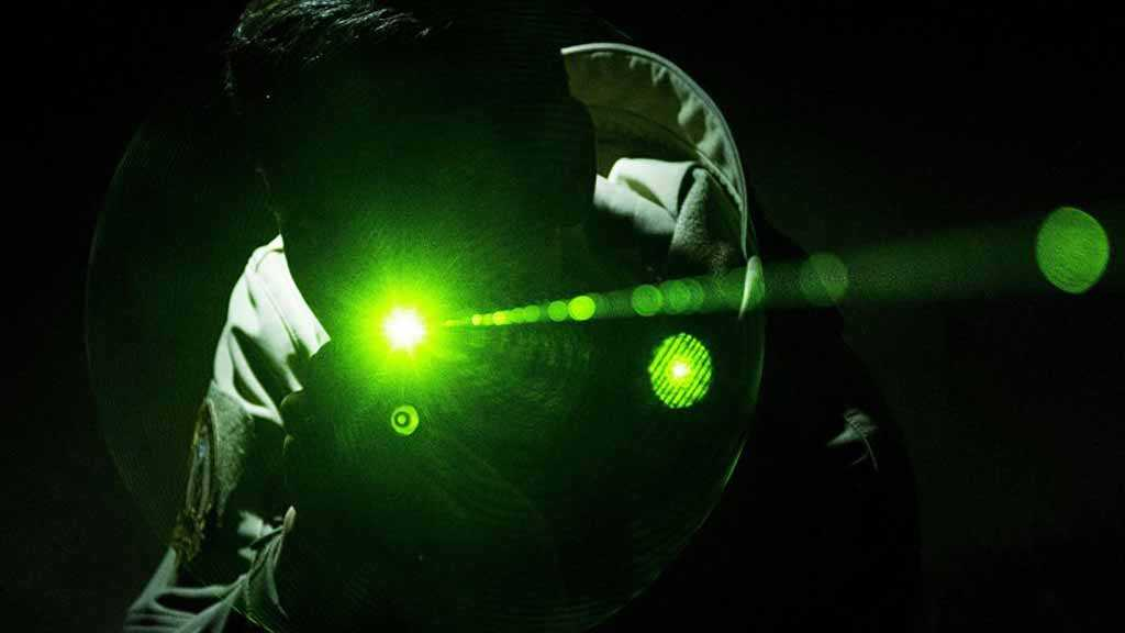 Man Arrested in Japan for Pointing Laser Beam at US Aircraft at Airbase