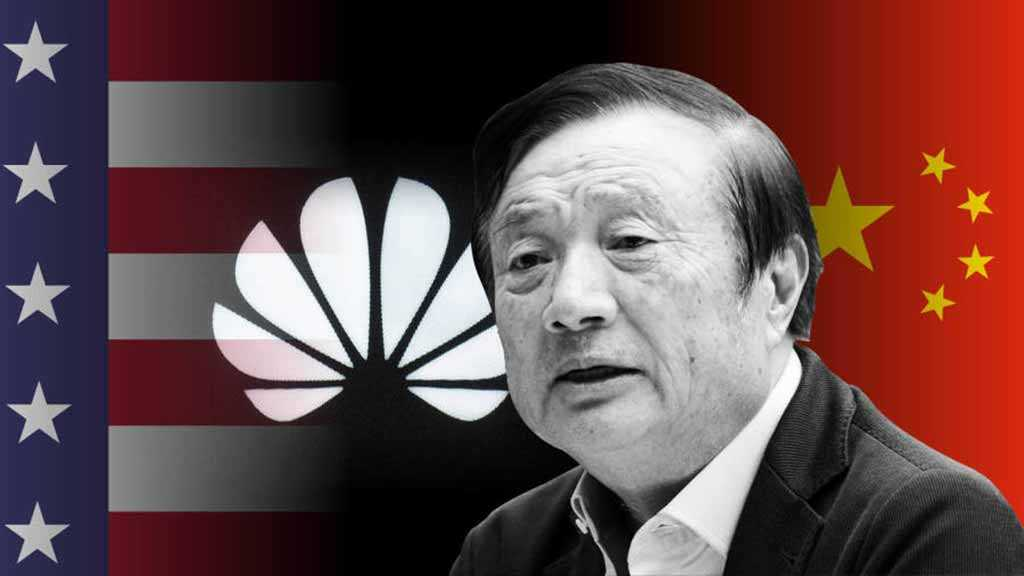Huawei CEO against China Punishing Apple for Trump's 5G Purge