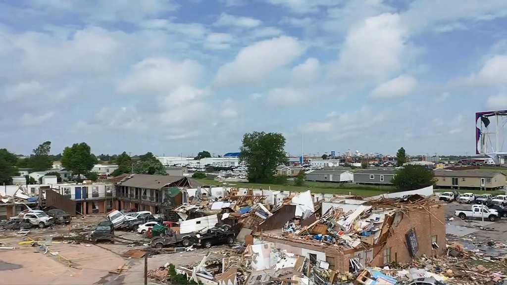 United State: Severe Weather in Oklahoma Kills Six, Rescue of Others Underway