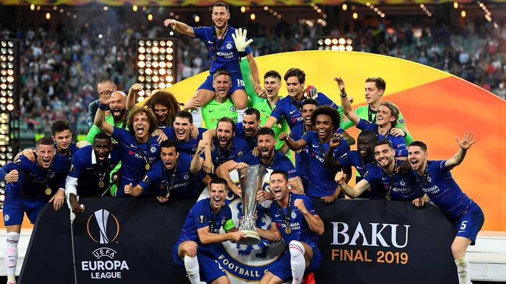 Chelsea win Europa League Final