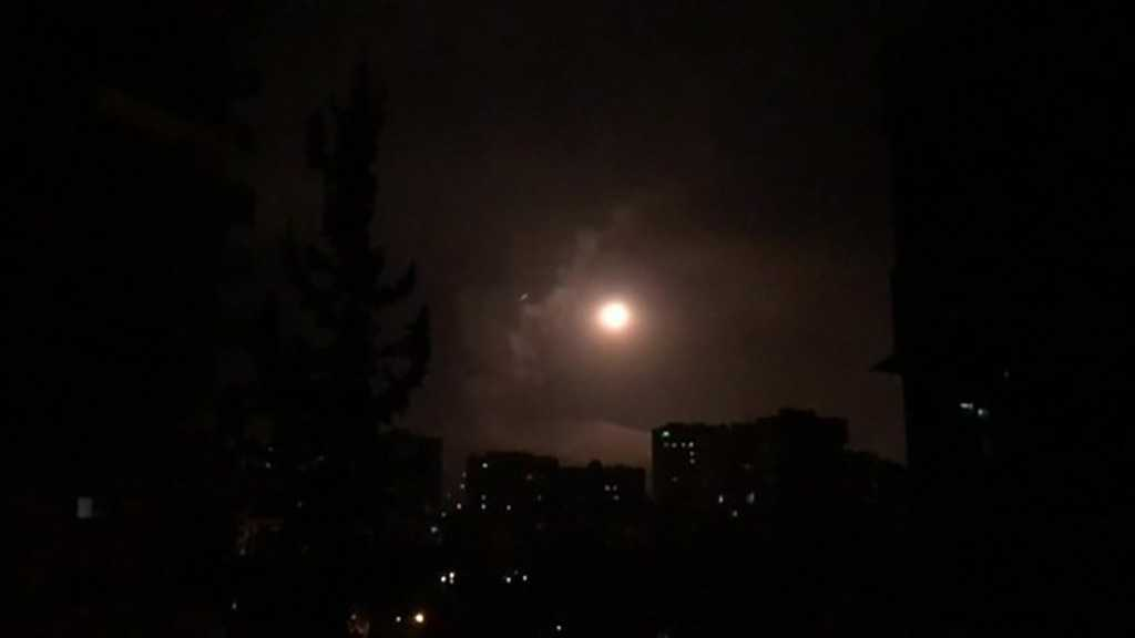 Syrian Anti-air Defenses Intercept 'Israeli' Missiles Targeting T4 Airport in Homs Countryside