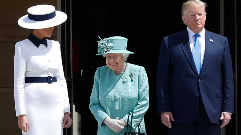 Trump Meets Queen of Britain after Insulting London Mayor