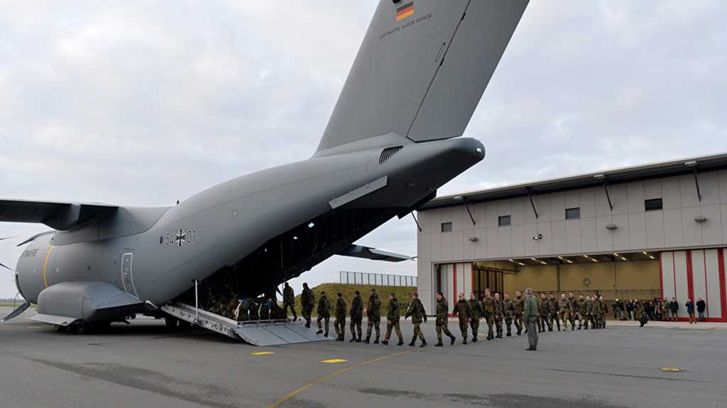 Report: US Pushes Germany to Remain in Syria for Spy, Training Missions