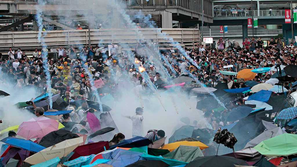 Hong Kong Police Fire Rubber Bullets As Extradition Bill Protests Turn to Chaos