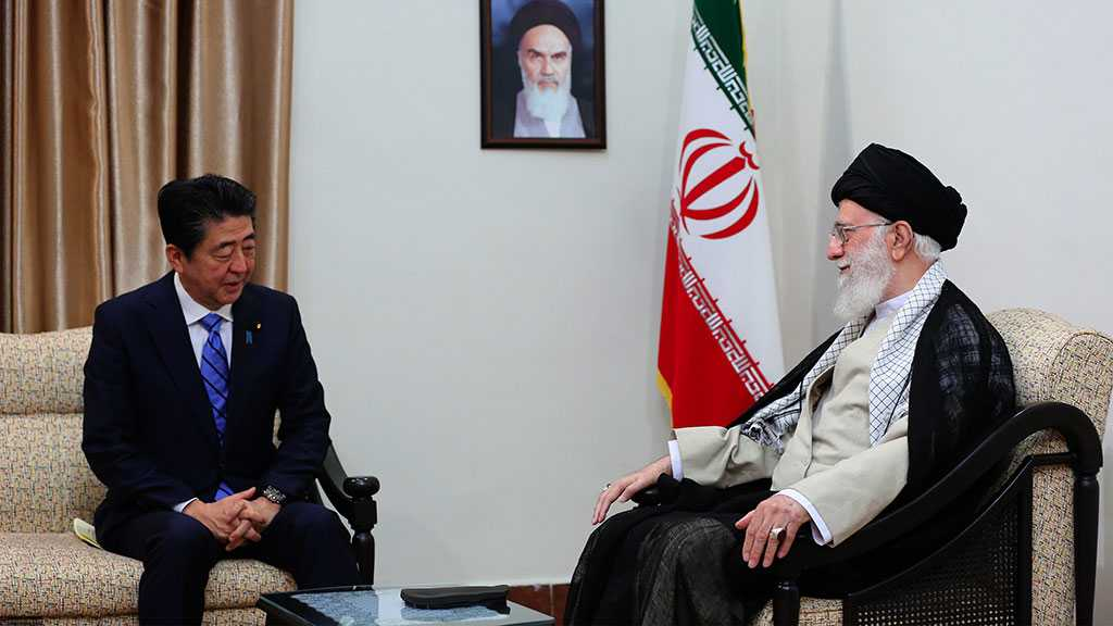 Imam Khamenei Receives Japan PM: Trump Not Worthy Of Exchanging Messages With