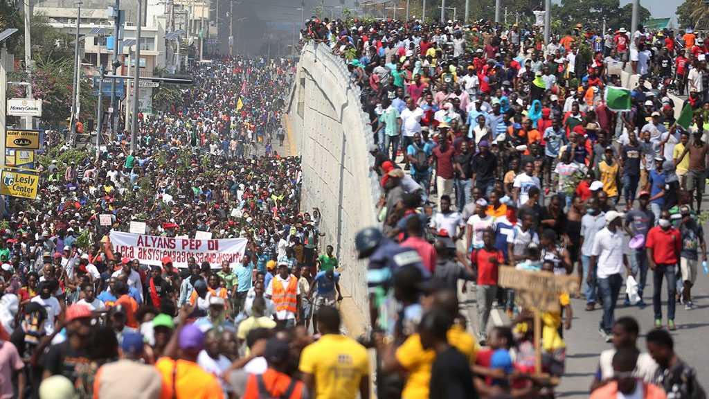Haiti: Thousands Protest against Corruption