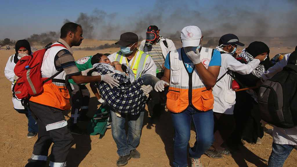 """Israeli"" Forces Attack Palestinian Protesters, Injure 46 Including Medics"