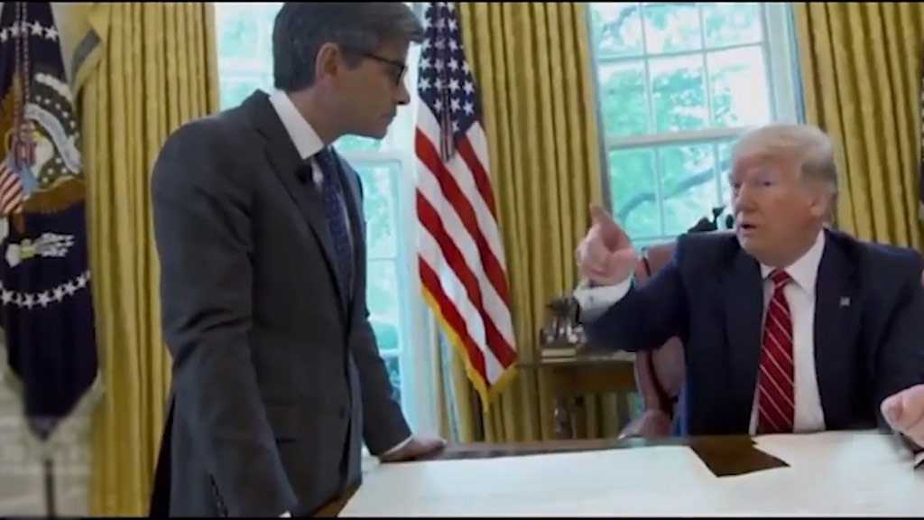 Trump Orders Coughing Chief Out of Oval Office!