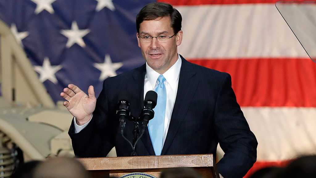 WH: Trump Nominates Mark Esper as War Secretary