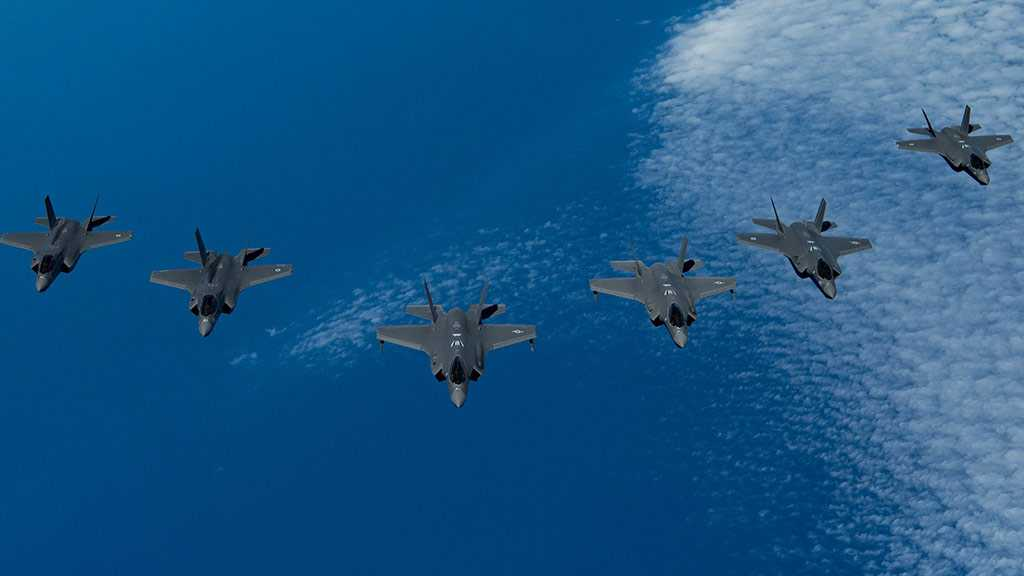 «Israeli» Jets Train with US, UK F-35s for First Time
