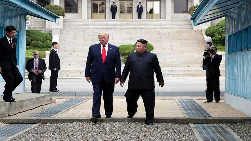 Trump Meets Kim in DMZ, Talks of Great Friendship