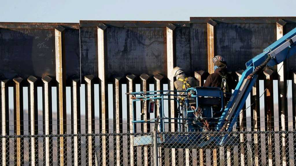 US Court Rejects Trump Admin Request for Border Wall Military Funding
